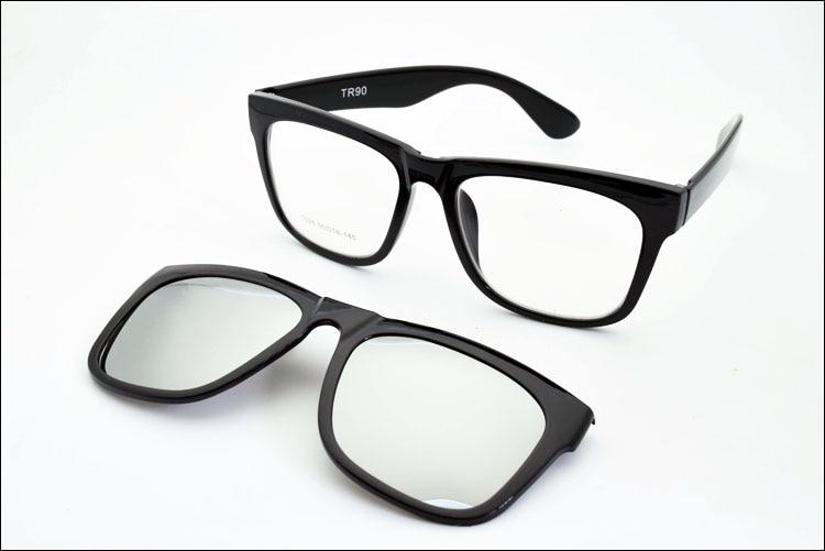 big frame eyeglasses frame full frame glasses myopia frame wide face magnet clip sunglasses myopia glasses polarized sunglasses in eyewear frames from mens - Wide Eyeglass Frames