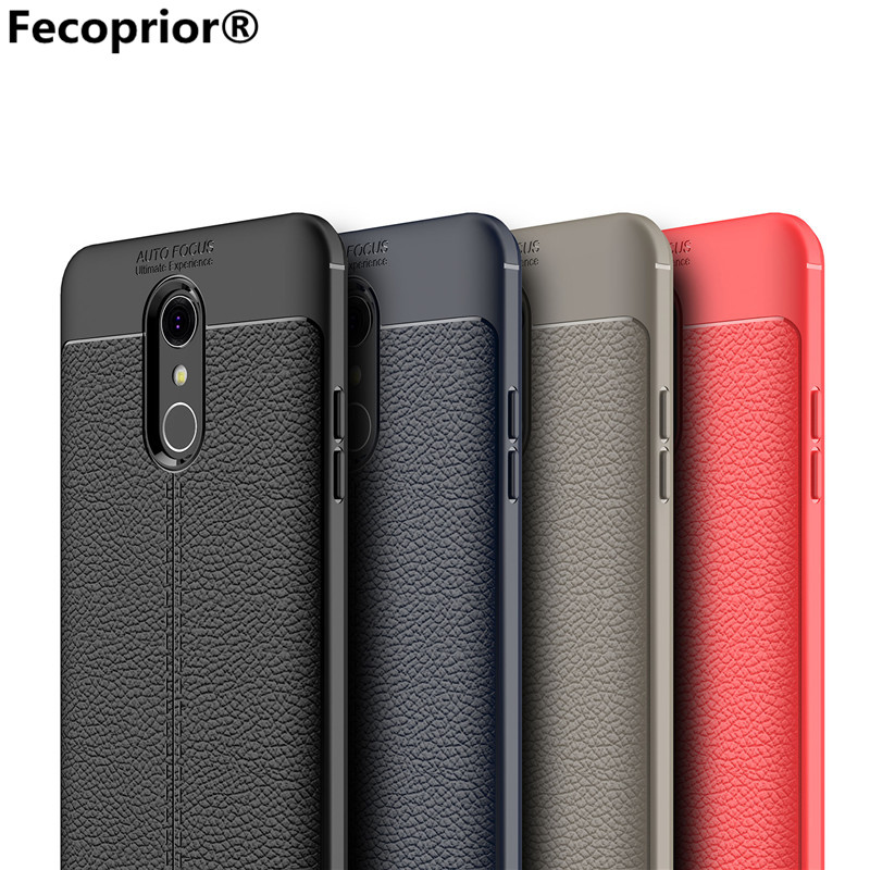 Fecoprior QSytlus TPU Case For LG Q Stylus Back Cover Thin Soft Armor Shield Sma