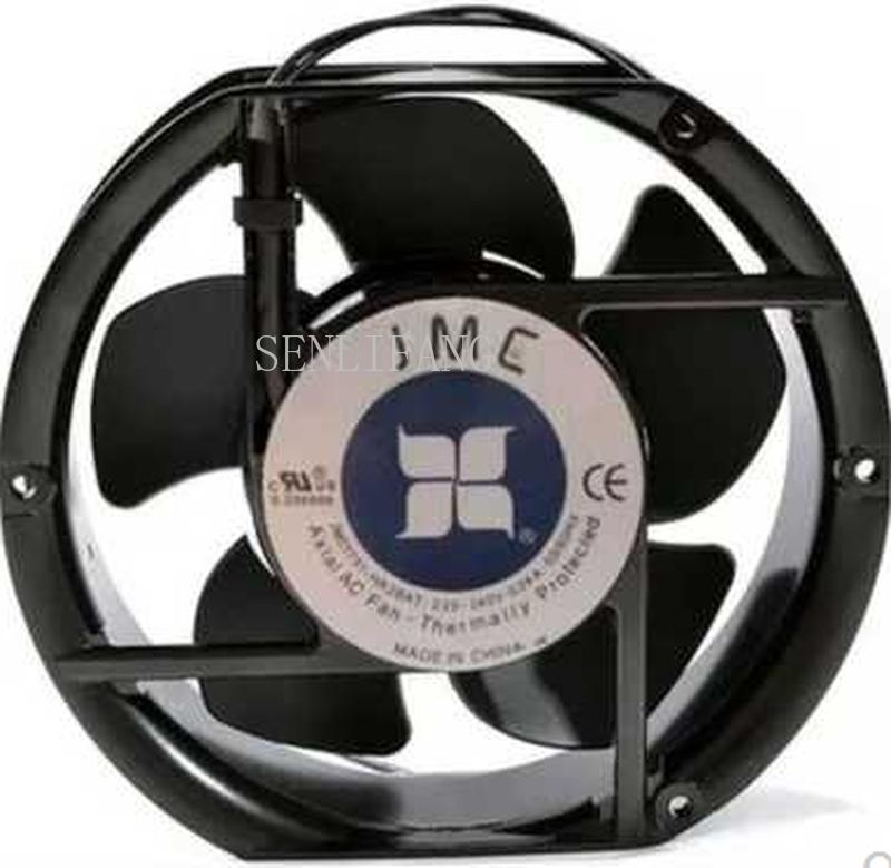 Free Shipping JMC1751-HA2BAT AC 220V/240V 0.24A 50/60HZ 2 Wires 17251 17cm 172*150*51mm Cabinet Cooling Fan