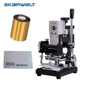 Hot Foil Stamping Bronzing Tipper Machine JX 90A|machine machine|machine stamping|machine foil -