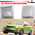 Car Cover Outdoor Sun Shield Rain Snow Resistant Protector Anti UV Cover For Kia Forte Sedan