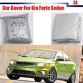 Car Cover Outdoor Sun Shield Rain Snow Resistant Protector Anti UV Cover For Kia Forte Sedan