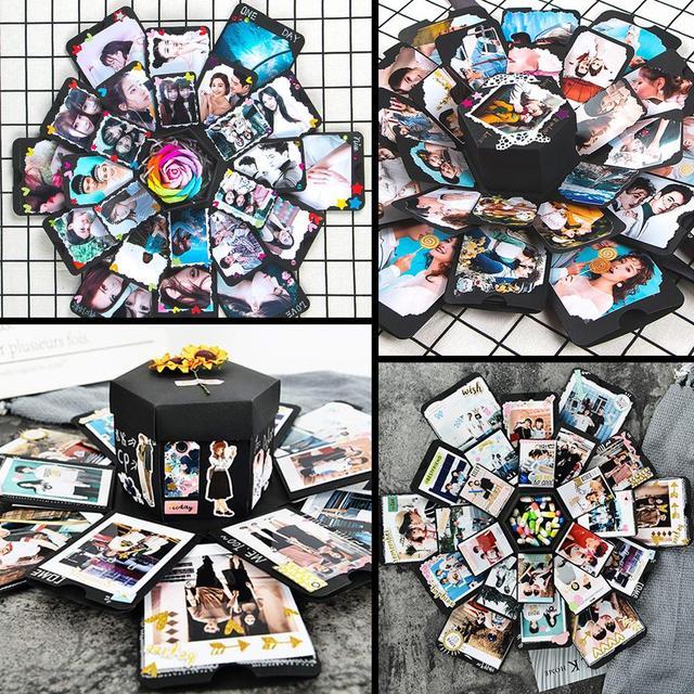 Diy Lover Photo Commemorative Gift Box Innovative Surprise