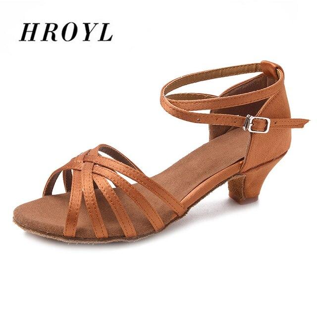 Low Heel Tango Dance Shoes