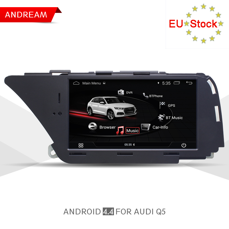 Android AUDI Q5 (2010-2016 B8) GPS Navigation with Bluetooth Wifi Car  Multimedia Player 7