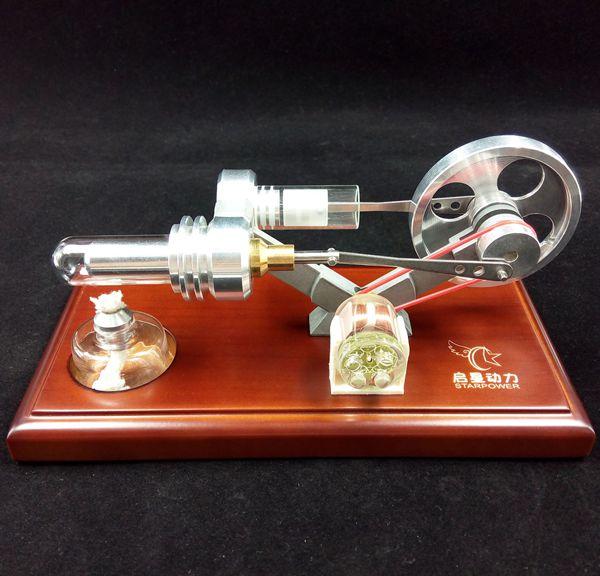 Air Motore Stirling con 4 LED Divertente Giocattolo Educativo Kit Generatore di Energia Modello-in Kit di modellismo da Giocattoli e hobby su  Gruppo 2