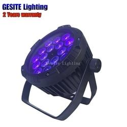 Wodoodporna 18x18 W RGBWA UV 6in1 IP65 reflektor LED Par światła DJ lampki nocne