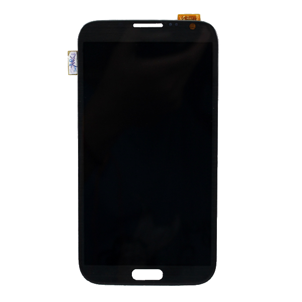 Grey LCD For Samsung Galaxy Note II N7100 LCD Touch Screen with Digitizer Assembly Replacement Free shipping + Track number brand new3 n7100 lcd free shipping 10pcs n7100 lcd touch sceen digitizer assembly for samsung galaxy note 2 lcd