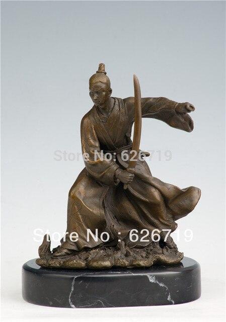 arts crafts copper bronze sword crafts replica statues katana brass