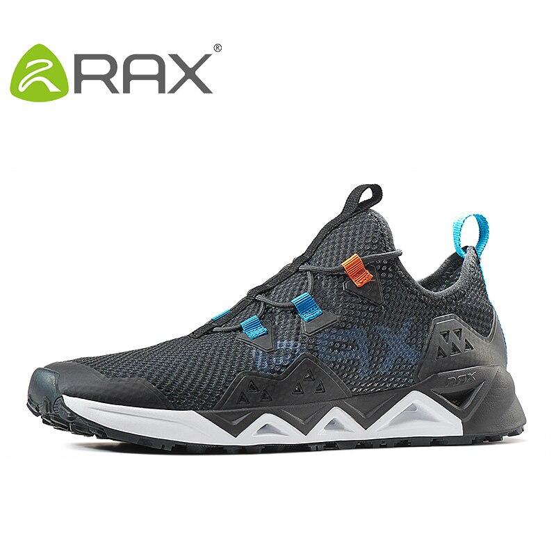 127bded4 Rax Мужская походная дышащяя обувь сетчатая летняя легкая обувь для  трекинга уличные Прогулочные кроссовки женские zapatos весенний Туризм