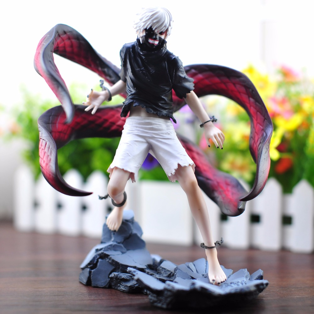 New 2015 Tokyo Ghoul Anime Cartoon Character Kaneki Ken Action Figure Second Generation Models Collection Toys christmas gift