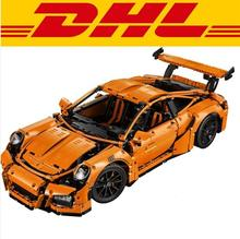 2016 new arrival technic series 911 GT3 RS Model Building Kits Minifigures Blocks Bricks Compatible With legoes 42056