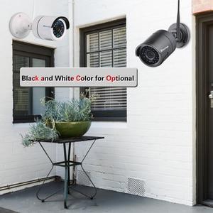 Image 4 - Techage 4CH 720P Беспроводная система охранной камеры Wifi CCTV P2P открытый видео NVR набор 1MP домашний комплект видеонаблюдения 2 ТБ HDD Plug Play