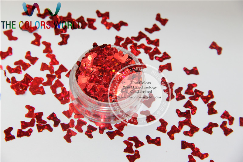 Christmas stocking  Sequins Size:7mm  Red colors paillette  for art and craft or other DIY decoration 1pack=50g женские чулки oem stocking 002