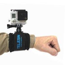 Para Gopro6 hero5/4/3 +/pequenas formigas câmera de esportes de 360 graus pode ser girado para a braço de direção com acessórios