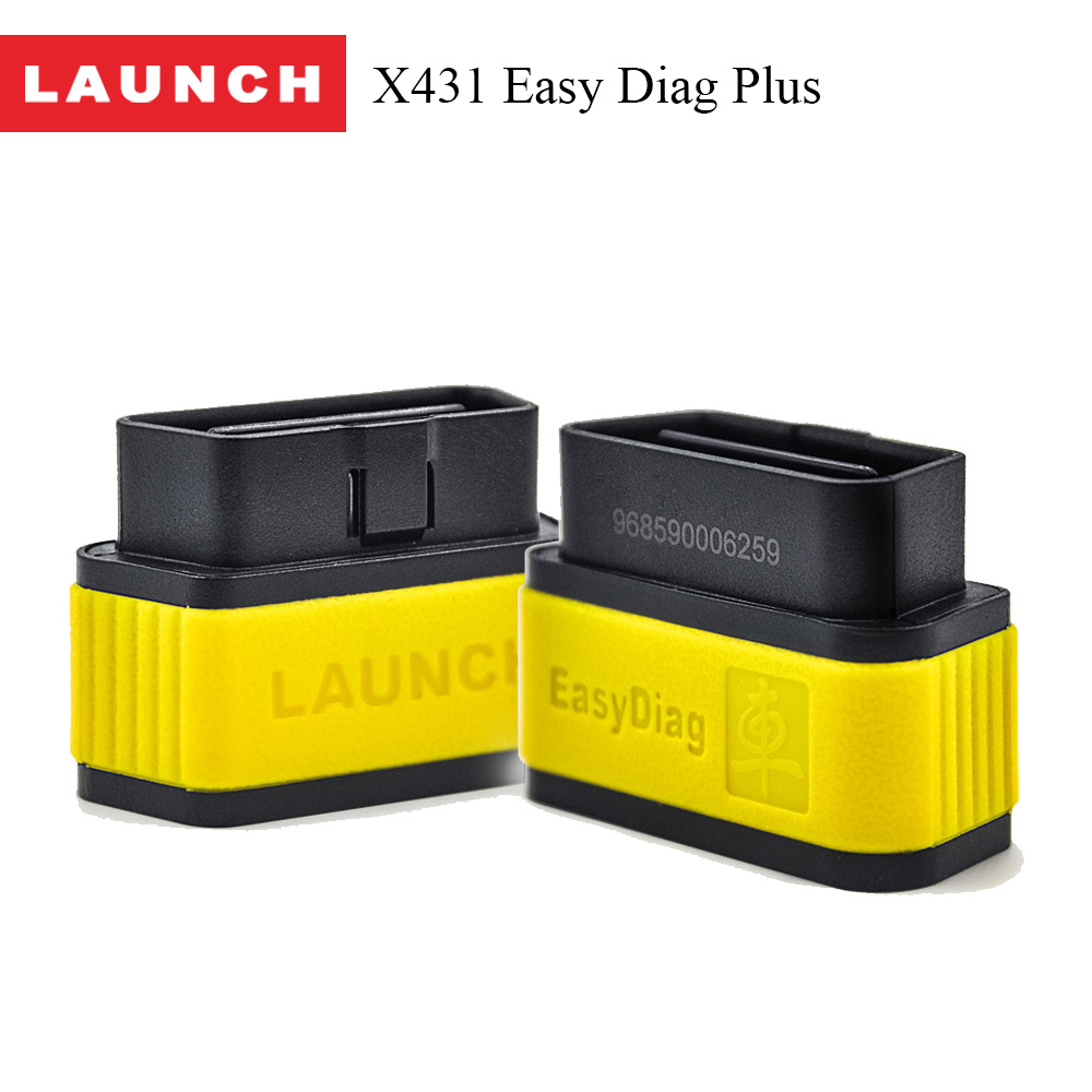 New Arrival Original Launch X431 EasyDiag 2.0 Plus OBDII Code Reader for Android IOS Easy Diag 2.0 +With 2 Free Vehicle Software