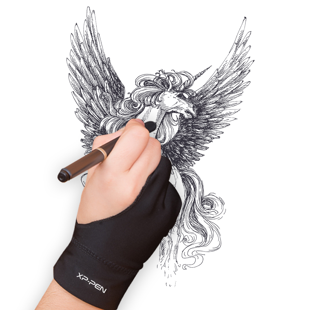 XP-Pen L suurus Artist Anti-fouling Glove tahvelarvuti / DisplayLight kasti / Tracing Light Pad