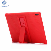 купить Soft Case For Lenovo TAB 4 10 TB-X304F TB-X304N TB-X304L Silicone Stand Case For Lenovo Tab 4 10 Plus TB-X704L TB-X704F/N недорого