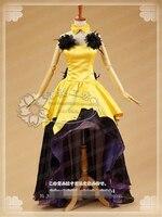 [Customize] Anime Sailor Moon Sailor Luna Cosplay Costume Princess Dresses Uniform Dress Halloween Costume for women Free Shippi