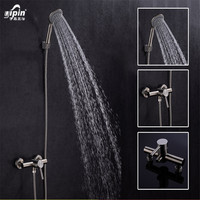 Manufacturers selling 304 stainless steel shower with simple bathing suit hotel bathroom shower