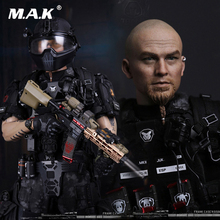 Custom 1/6 SF002 Ghost series Titan military Frank Casey Figure With Body Head Sculpt Clothes Shoes Toys Action
