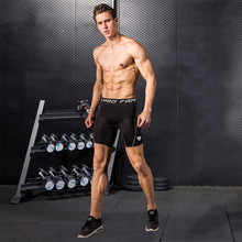 Men's Skinny Training Sports Fitness Jogging Shorts Moisture Perspiration and Quick-drying Basketball Compression Shorts