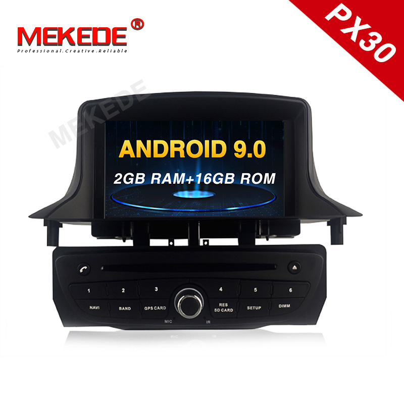 Android car multimedia player for Renault <font><b>Megane</b></font> 3/Renault Fluence 2009+ car stereo head unit <font><b>GPS</b></font> navigation radio tape recorder image