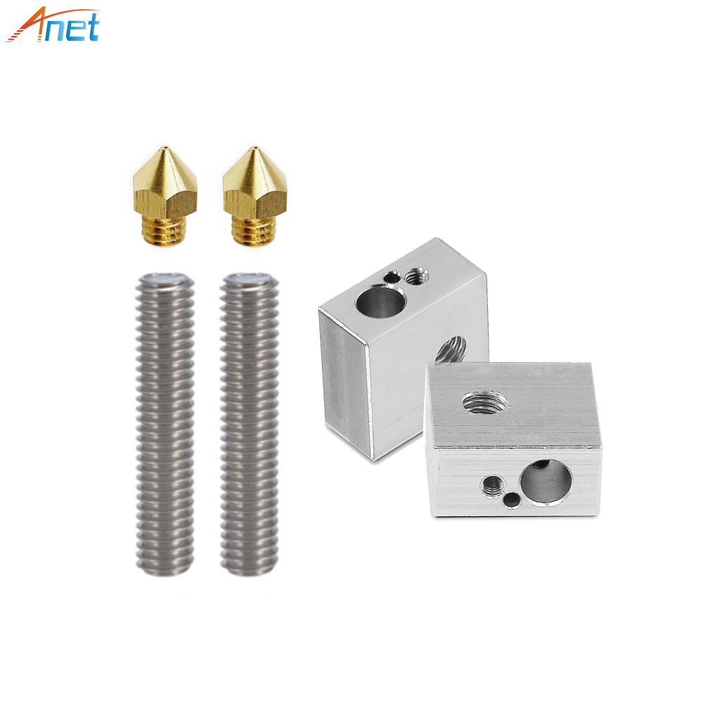 anet-a8-a6-3d-printer-part-2pcs-04mm-extruder-nozzle-2pcs-175mm-throat-tube-2pcs-heater-blocks-hotend-for-mk8-makerbot