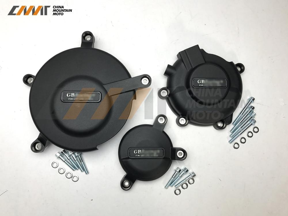 Moto Del Motore di Protezione della copertura di caso per GB Racing per SUZUKI GSXR600 GSXR750 2006-2015Moto Del Motore di Protezione della copertura di caso per GB Racing per SUZUKI GSXR600 GSXR750 2006-2015