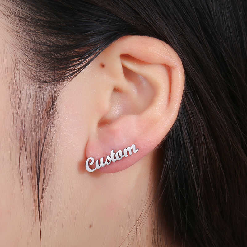 c1f10af0fb123 Detail Feedback Questions about Custom Earring Customize Name ...