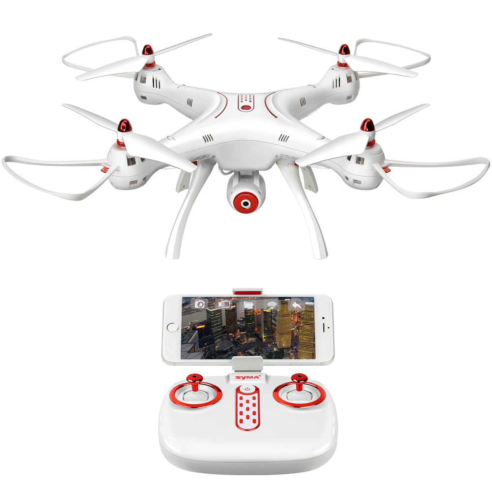 SYMA X8SW 2.4G WIFI FPV Real-time Transmission 4CH 6Axis Altitude Hold RC Quadcopter with Camera RC Helicopter VS X8HW X8W