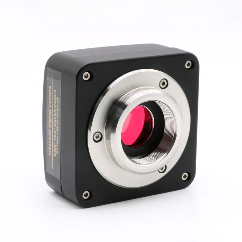 5MP 10MP 14MP USB 2.0 High Speed Industrial Camera CCD HD Electronic Eyepiece C-mount Adapter CMOS Microscope Camera
