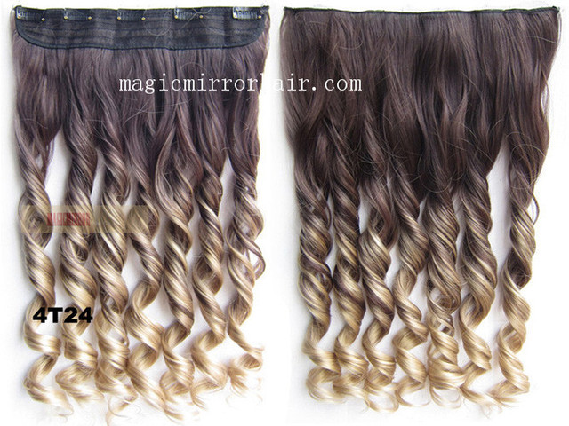 Shade Millcolorgrad Long Curly Wavy Hairpiece Hairstyle Extension