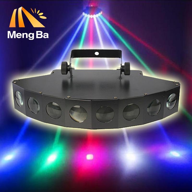 Hot 8X3w CREE LED Beam Light 8 Eyes RGBW LED Light DMX512 Stage Light DJ/Fest/Home / Bar /Stage /Party Light Stage Machine 54x3w led rgbw monochromatic par light dmx512 professional dj bar party show stage light led stage machine