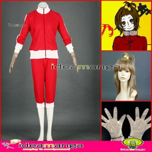 Manga Amime V+ VOCALOID Matryoshka/Kamui Meiko Sakine Meiko woman's Cosplay Costume Female halloween party dress Any Size
