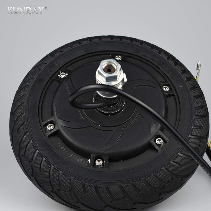 24V 36V 48V 8Inch Electric Wheel Hub Motor 350W Brushless Non-Gear Hub Motor For Electric Scooter e-Bike Motor Wheel 8 electric motorcycle 60v1000w brushless non gear hub motor 225 55 8 tire vacuum tire for electric bicycle wheel motor