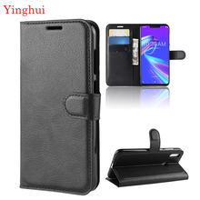 For ASUS ZenFone Max M2 ZB633KL Case Flip Leather Phone Case for ASUS ZenFone Max M2 ZB633KL Wallet Leather Stand Cover