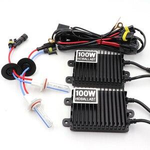 Image 2 - Niscarda H1 H3 H4 H11 9006 100W 4300K 6000K 8000K Ballast HID Xenon Kit 12V auto Licht Scheinwerfer 9005 9006
