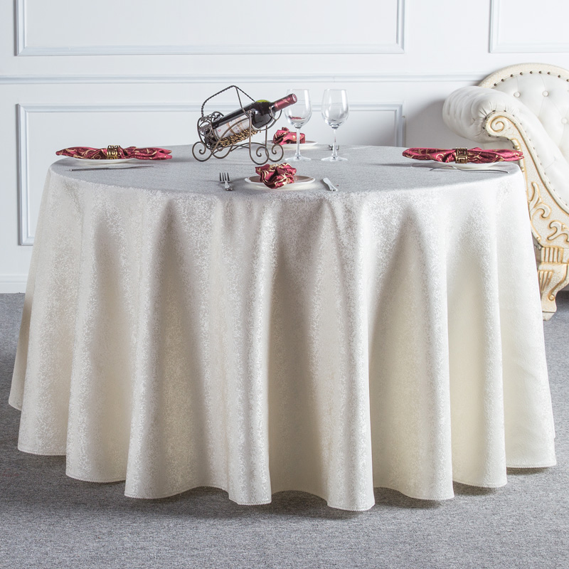Beige Red Coffee Round Table Cloth Lace Edge Tablecloths For Wedding  Resturant Party Table Cover Tafelkleed