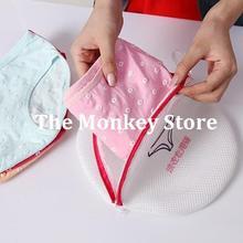 Women Hosiery Shirt Sock Underwear Washing Lingerie Wash Protecting Mesh Bag Aid Laundry Saver F0399
