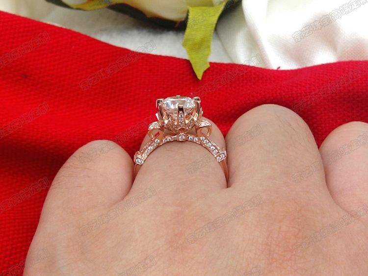 14 Carat Rose Gold Engagement Rings Wedding Gallery