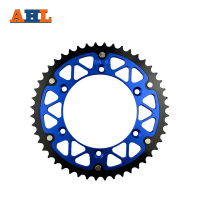 48T High Performance Motorcycle Steel Aluminum Composite Rear Sprocket For YAMAHA YZ450F YZ450 F 2003 2014