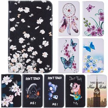 Stand Folio Case Cover For Samsung Galaxy Tab A 2016 10.1 Tablet SM-T580 T585 with Multiple Viewing Angles Document Card Pocket