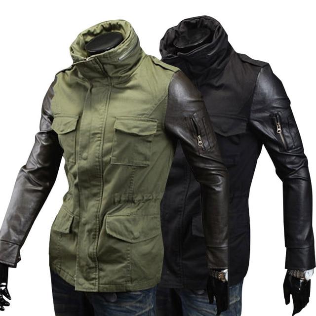 Aliexpress.com : Buy 2015 British fashion mens green army jacket