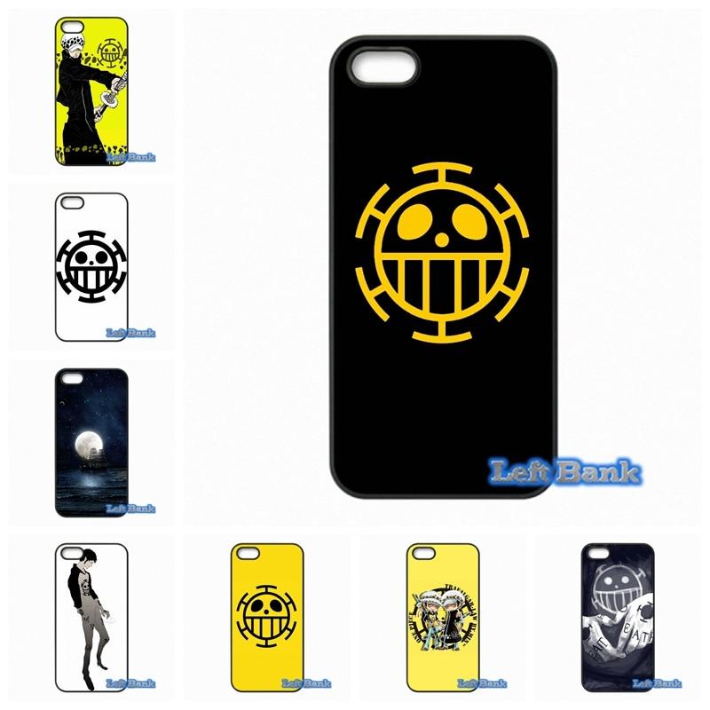 one piece trafalgar law logo Phone Cases Cover For Samsung Galaxy 2015 2016 J1 J2 J3 J5 J7 A3 A5 A7 A8 A9 Pro