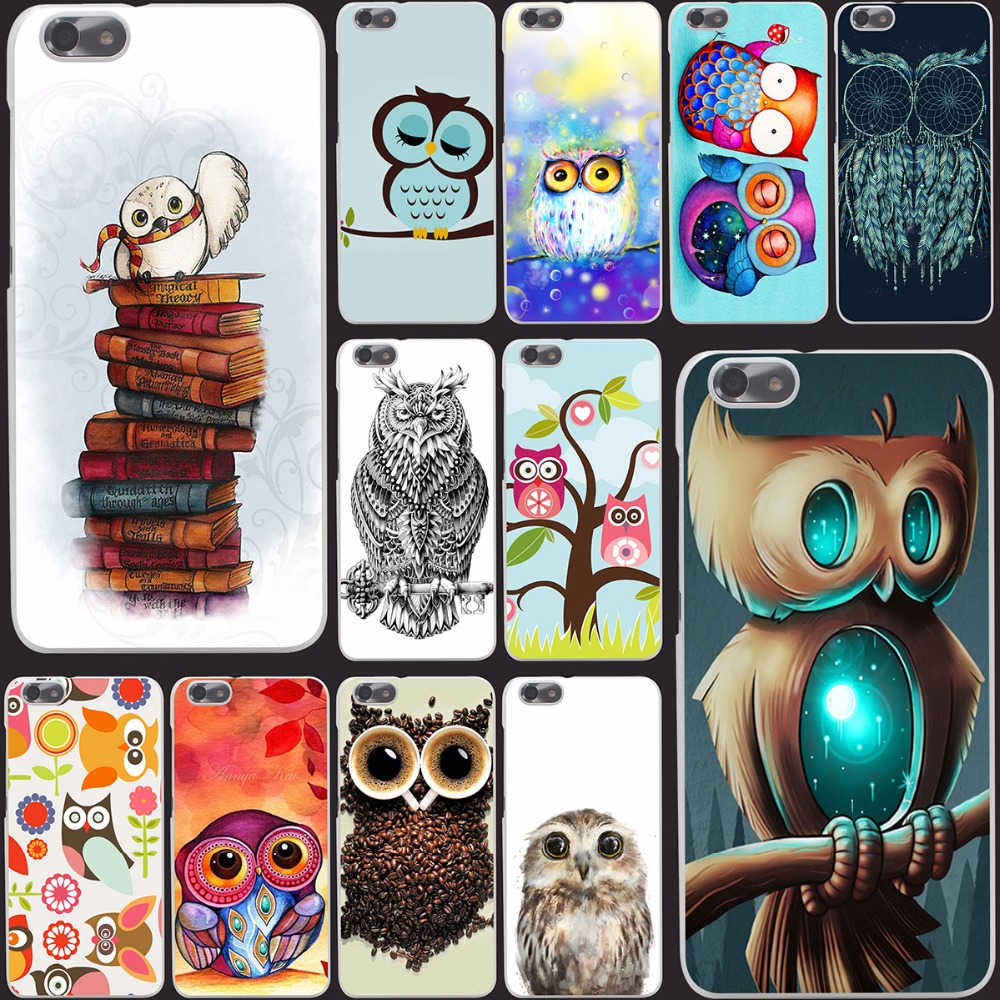 6891-OIE Harry Potter Owl Hedwig Hard Case Cover for Huawei P6 P7 P8 Lite P9 Lite Plus & Honor 6 7 4C 4X G7