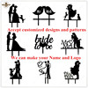 Personal Customized Acrylic Cake Toppers For Birthday Wedding Festival Party Decoration Individual Custom Made Cake Decoration