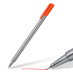 Image 3 - LifeMaster Staedtler Triplus Fineliner הרגיש טיפ ציור עט אמנות סמן 0.3mm רב צבע 334SB