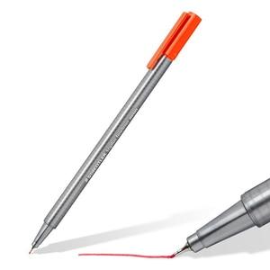 Image 3 - LifeMaster Staedtler Triplus Fineliner фломастер с наконечником художественный маркер 0,3 мм разные цвета 334SB