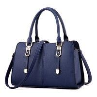 High Quality PU Leather Handbag For Women 2016 Korean Simple Stylish Large Capacity Women S Bag